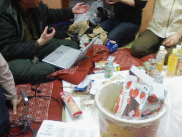 ふたきNOWーお菓子食べつつ作戦会議