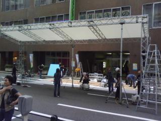 撤収作業中〜20101010〜船場ロボファッコン